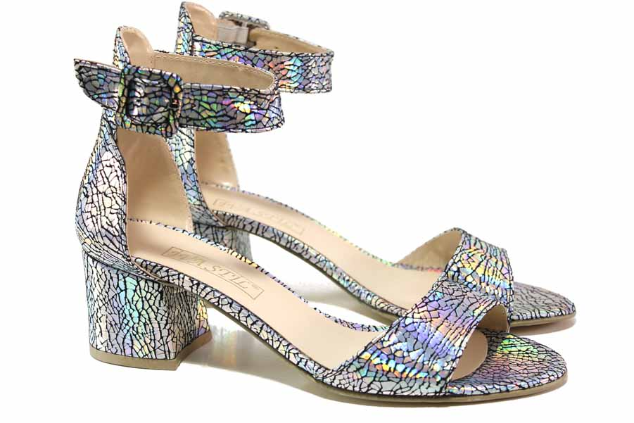 Дамски сандали - висококачествена еко-кожа - всички цветове - EO-15646