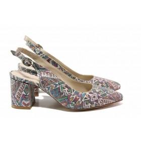 Дамски обувки на висок ток - висококачествена еко-кожа - всички цветове - EO-15676