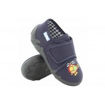 Детски обувки - висококачествен текстилен материал - сини - EO-15659