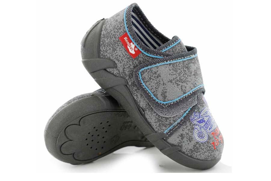 Детски обувки - висококачествен текстилен материал - сини - EO-15660