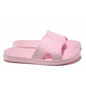Джапанки - висококачествен pvc материал - розови - EO-15974