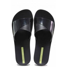 Джапанки - висококачествен pvc материал - черни - EO-16038