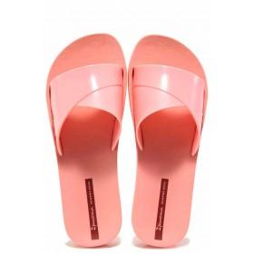 Джапанки - висококачествен pvc материал - розови - EO-16037