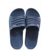 Джапанки - висококачествен pvc материал - сини - EO-16698