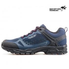 Спортни мъжки обувки - висококачествен текстилен материал - тъмносин - EO-17350