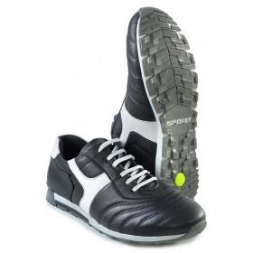 Спортни мъжки обувки - естествена кожа - сини - EO-16930