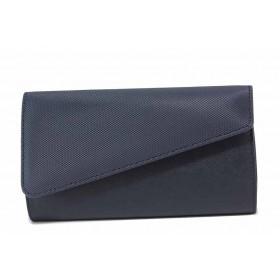 Дамска чанта - висококачествена еко-кожа - тъмносин - EO-17633