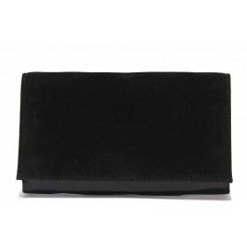 Дамска чанта - висококачествена еко-кожа - черни - EO-17639