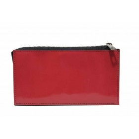 Дамско портмоне - естествена кожа - червени - EO-17704