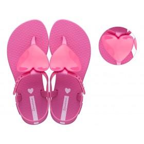 Детски сандали - висококачествен pvc материал - розови - EO-18445