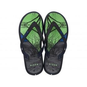 Мъжки чехли - висококачествен pvc материал - зелени - EO-18340