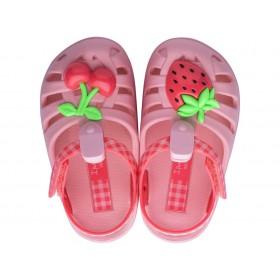 Детски сандали - висококачествен pvc материал - розови - EO-17944