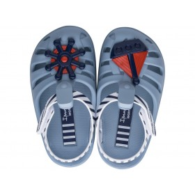 Детски сандали - висококачествен pvc материал - сини - EO-17945