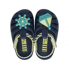 Детски сандали - висококачествен pvc материал - тъмносин - EO-17947