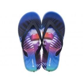 Мъжки чехли - висококачествен pvc материал - лилави - EO-18335