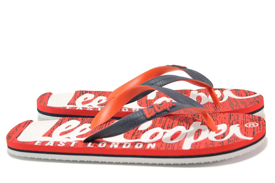 Джапанки - висококачествен pvc материал - червени - EO-18530