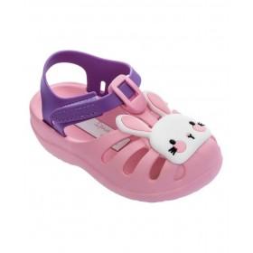 Детски сандали - висококачествен pvc материал - розови - EO-18440