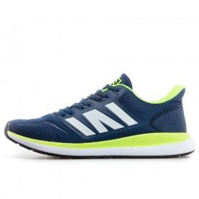 Спортни мъжки обувки - висококачествен текстилен материал - тъмносин - EO-17855