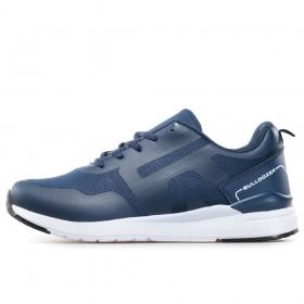 Спортни мъжки обувки - висококачествен текстилен материал - тъмносин - EO-17864