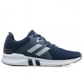 Спортни мъжки обувки - висококачествен текстилен материал - тъмносин - EO-17873
