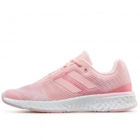 Юношески маратонки - висококачествен текстилен материал - розови - EO-17903