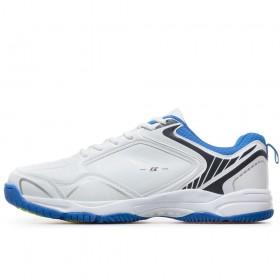Спортни мъжки обувки - висококачествена еко-кожа - бели - EO-17870