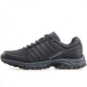 Спортни мъжки обувки - висококачествена еко-кожа - черни - EO-17885