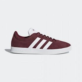 Спортни мъжки обувки - естествен велур - бордо - EO-17789