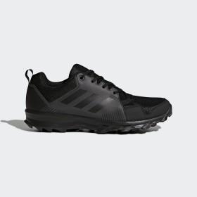 Мъжки маратонки - еко-кожа с текстил - черни - EO-17822