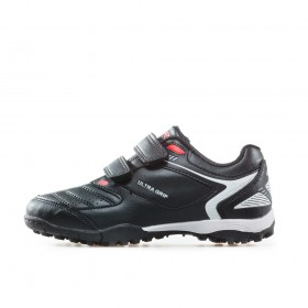 Детски маратонки - висококачествена еко-кожа - черни - EO-17907
