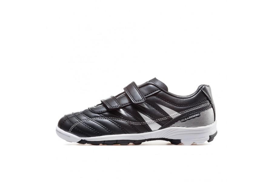 Детски маратонки - висококачествена еко-кожа - черни - EO-17909