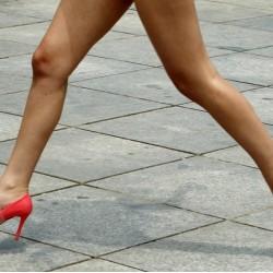 Правила при носене на обувки с висок ток