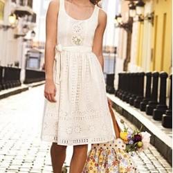 Най-често срещаните грешки при комбинации с бяла лятна рокля