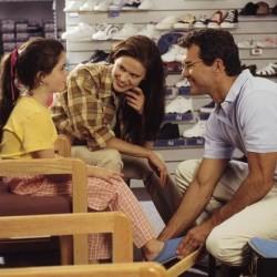 Иизбор на детски обувки