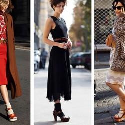 Модата на носенето на чорапи със сандали