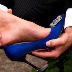 Завръщането на класическия модел обувки с токче