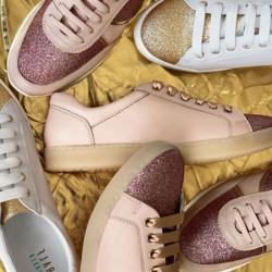 Сребристи спортни обувки