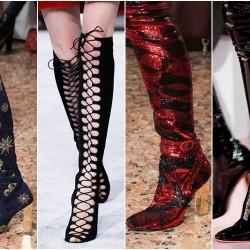 Зимни тенденции при дамските обувки