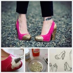 Лесно подновяване на старите обувки!