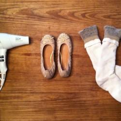 Как да разширите тесни обувки