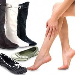 Равните обувки водят до болки в краката