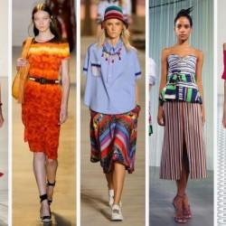 Модните тенденциите за пролетно-летния сезон