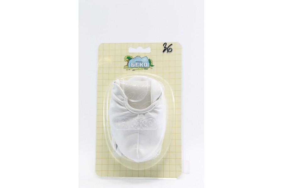 Детски обувки - висококачествена еко-кожа - бели - EO-2801