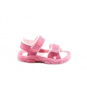 Детски сандали - висококачествен pvc материал - розови - EO-1126