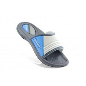 Детски чехли - висококачествен pvc материал - сиви - EO-1127