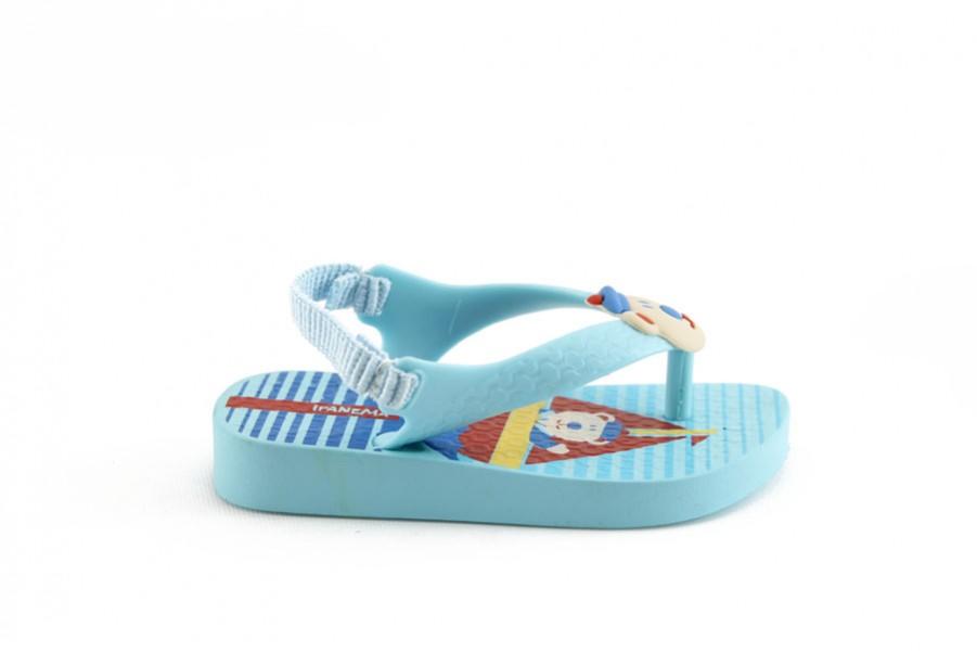 Детски сандали - висококачествен pvc материал - сини - EO-1136