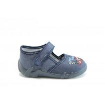 Детски обувки - висококачествен текстилен материал - тъмносин - МА 13-105 т.син 20/25