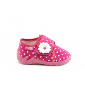 Детски обувки - висококачествен текстилен материал - розови - EO-1920
