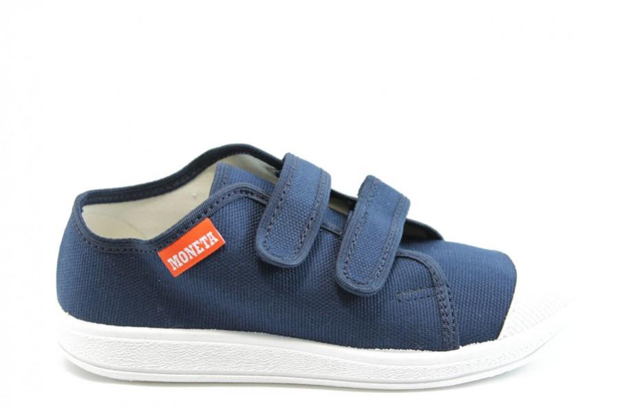 Детски обувки - висококачествен текстилен материал - сини - EO-7792