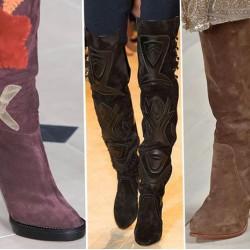 Обувки на прага на зимата